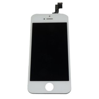 Iphone 5S LCD A++ Display weiss Touchscreen Glas Retina Digitizer Komplett set