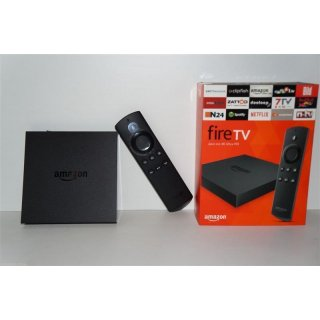 Amazon FIRE TV BOX 4K UHD Media Player 18.3 Filme+Serien+Sport+LiveTV Autoupdate