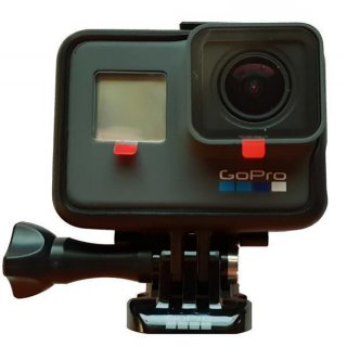GoPro HERO6 Black Action-Kamera 12 Megapixel + 32 GB SD Karte + Handgriff