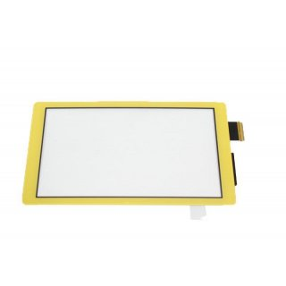 Nintendo Switch Lite Touchscreen Gelb Reparatur / Defekt Scheibe Ersatzglas Digitizer