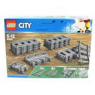 LEGO City Schienen und Kurven 60205
