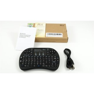 Rii i8 ++ Touch Mouse Tastatur Pad Blue Tooth Modell RT-MWK08+