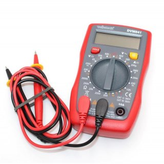 Velleman DVM841 Hand-Multimeter digital CAT II 500 V, CAT III 300V