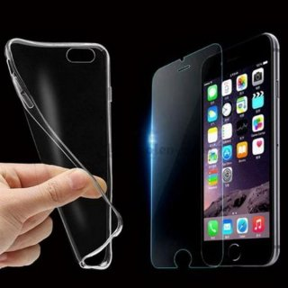 ULTRA SLIM Case für Iphone 7+ / 7 Plus Silikon Hülle Schutzhülle TPU Transparent