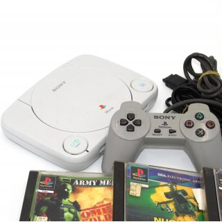 Sony Playstation PS One SCPH-102 Video Game Konsole gebraucht
