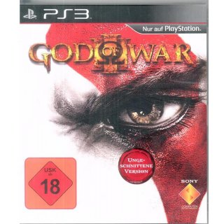 God Of War 3 PlayStation 3 PS3 Complete PAL mit Anleitung PS3 Spiel USK18  Gebraucht