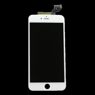 LCD Display Retina für iPhone 6S+ Plus Glas Scheibe Komplett Front weiss + Öffner Kit 8in1