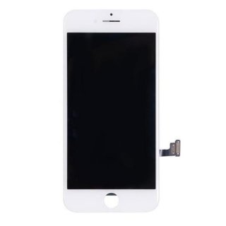 LCD Display Retina für iPhone 7+ Plus Glas Scheibe Komplett Front weiss + Öffnert Kit 9in1
